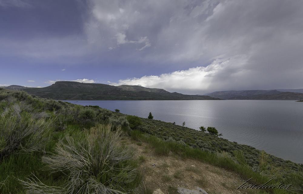 Blue Mesa Lake.