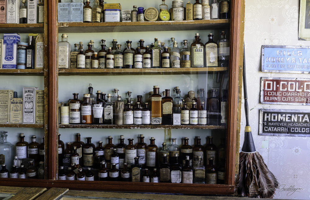 As an herbalist I recognized many of these medicines:  Blue Flag, Calamus, and Cardamom.  Not sure how effective Dr. Miles Tonic was, however.