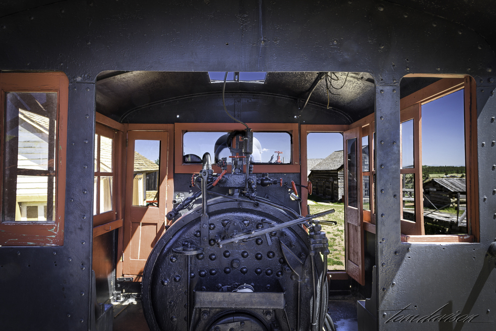 You can get up into the locomotive.  Kids loved it.