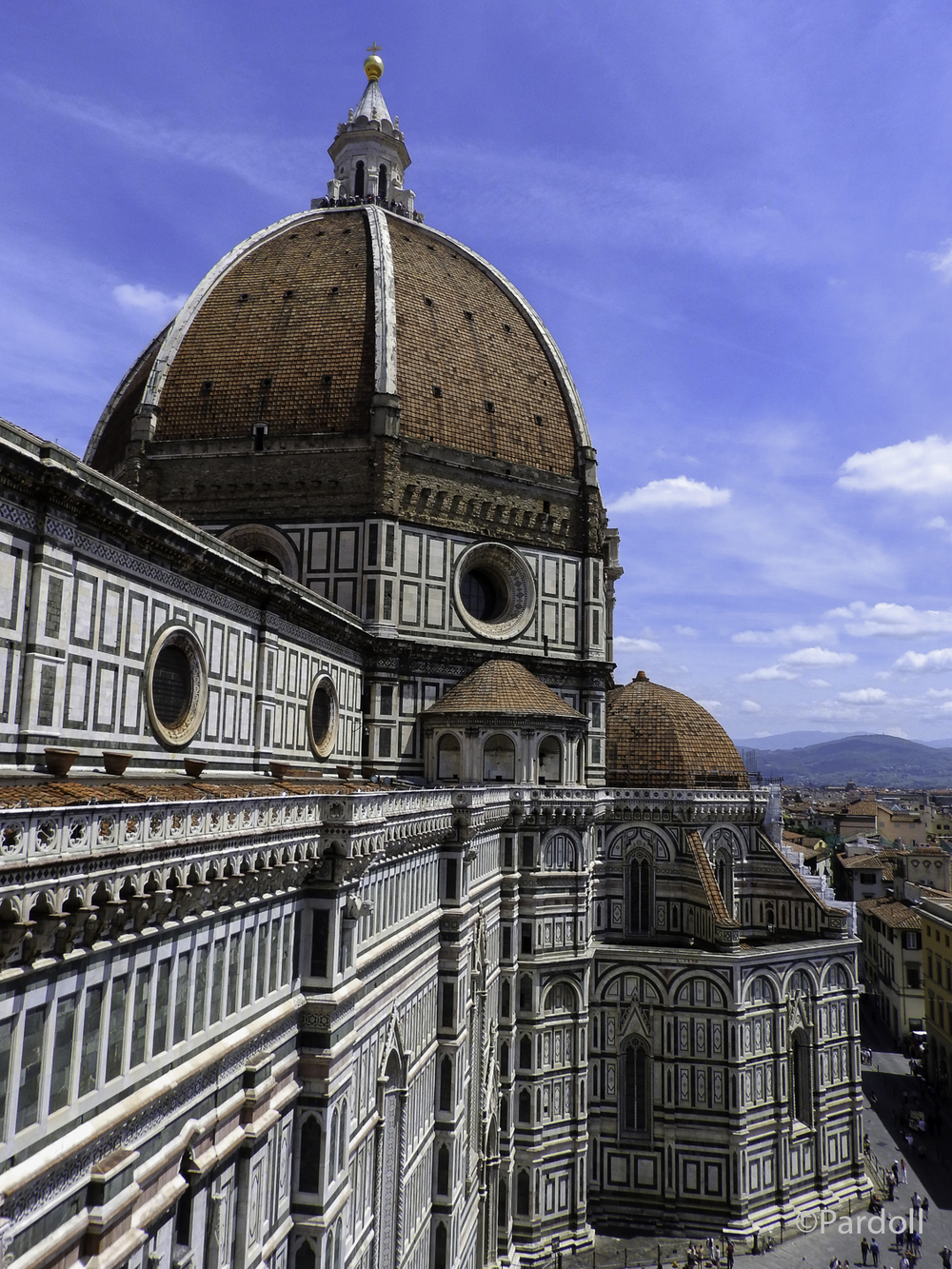 The Duomo from the bell tower.