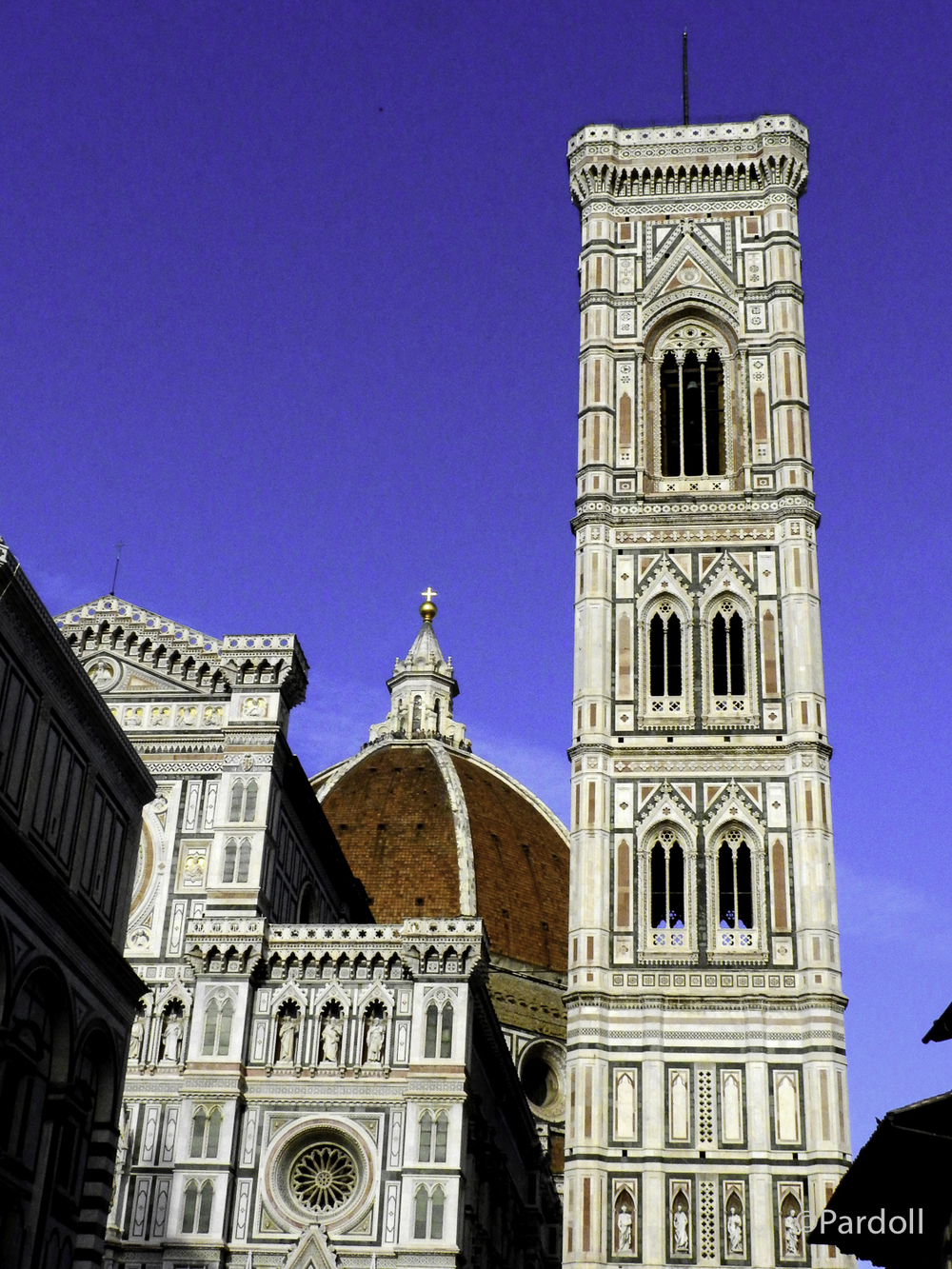 This is Santa Maria del Fiore, Europe's 4th largest church.