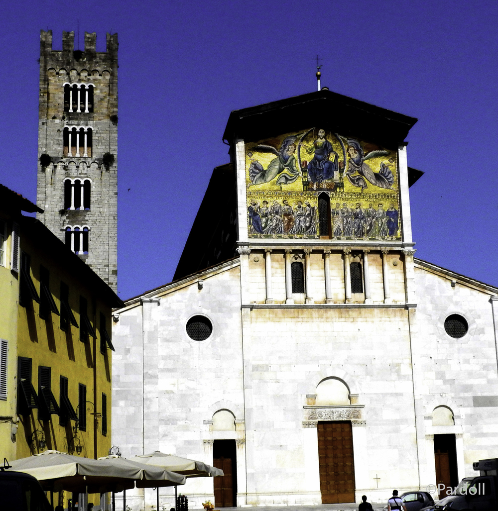 Basilica of San Frediano, built in the 12th century.