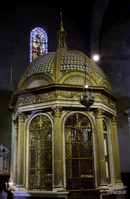 Baptistry at San Martino Cathedral.