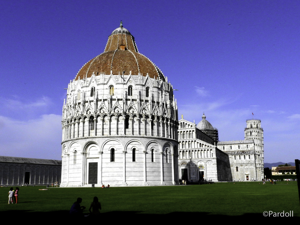 Duomo, baptistry and tower.