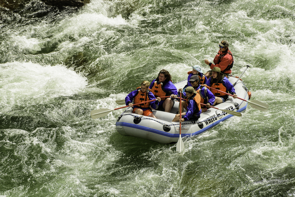Rafting is a big deal in this area. I was so tempted to join their fun.