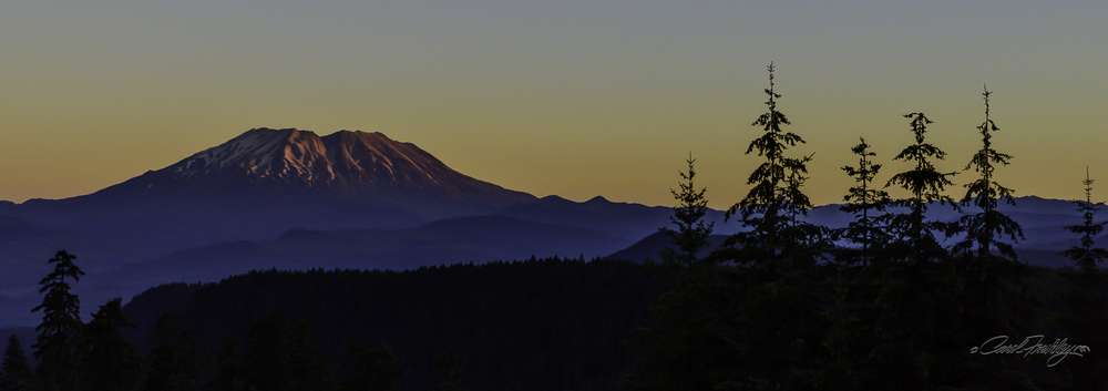 Sunrise from McClellan Viewpoint