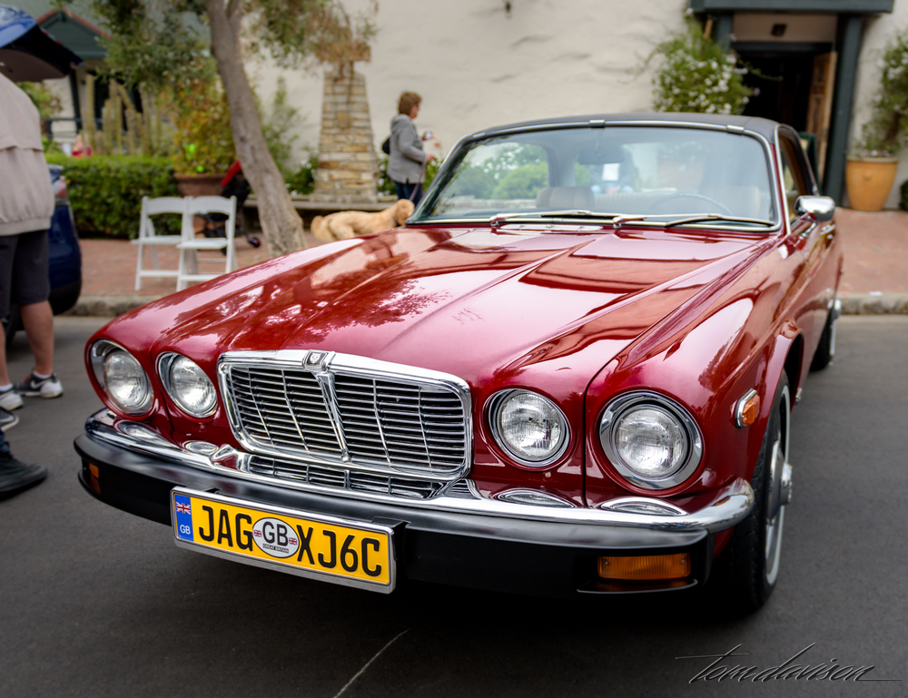 1960s era Jaguar hard top coupe