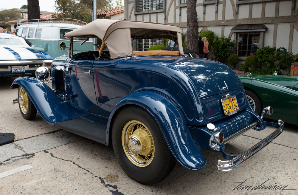 1932 Ford roadster (not a high boy because it has fenders)