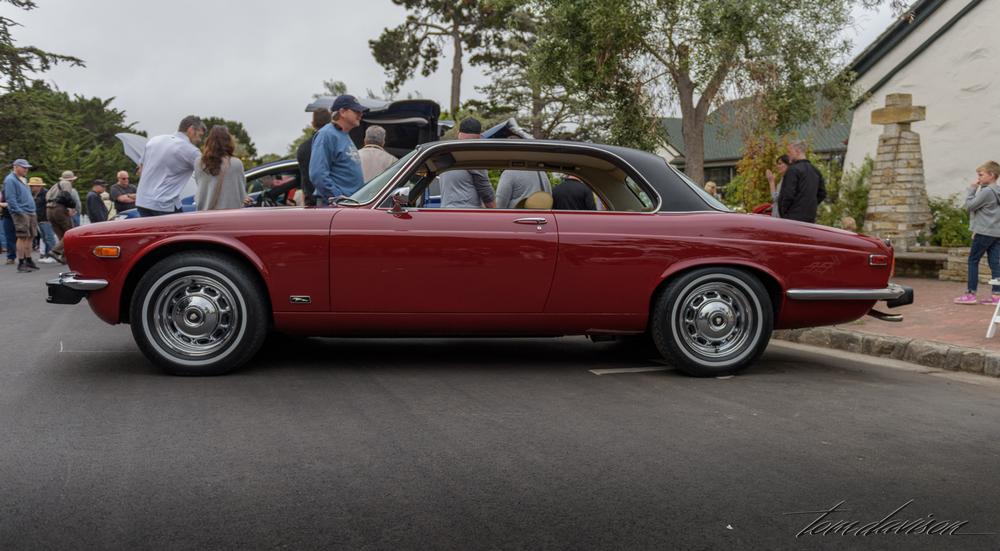1960s Jaguar coupe
