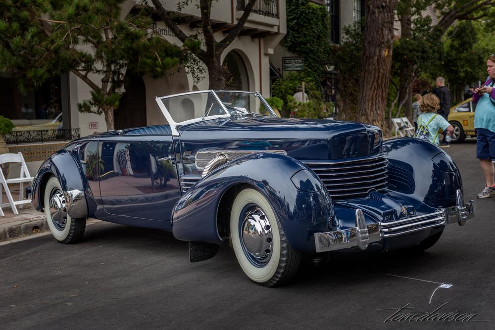 1937 Cord roadster (very rare)