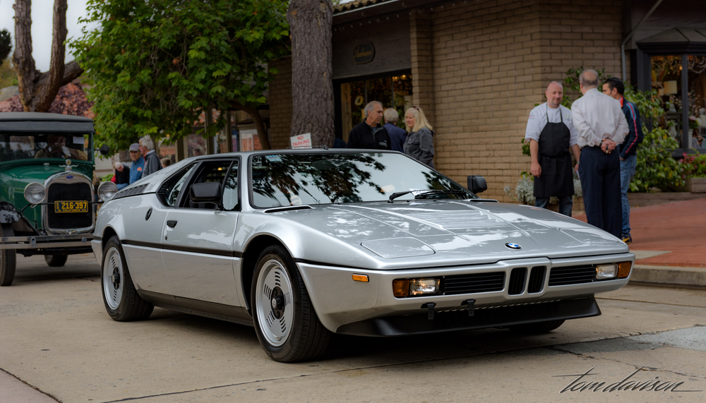 1980s era BMW M-1 super car