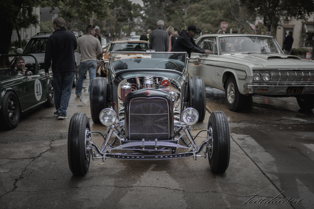 Model T-Ford hot-rod