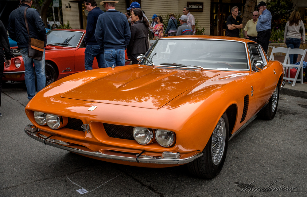 Iso-Grifo, a limited production Italian car with a Chevy engine