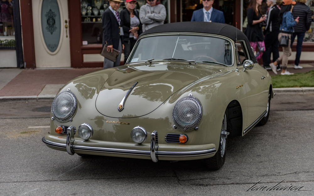 1950s era Porsche roadster