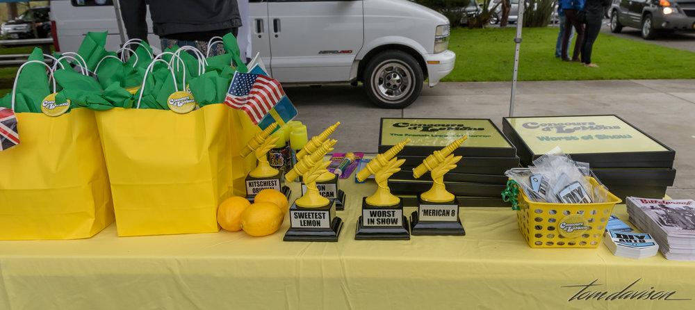 Prizes!! Plastic spark plugs.
