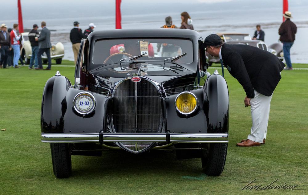 Extremely rare Type 57 Bugatti.