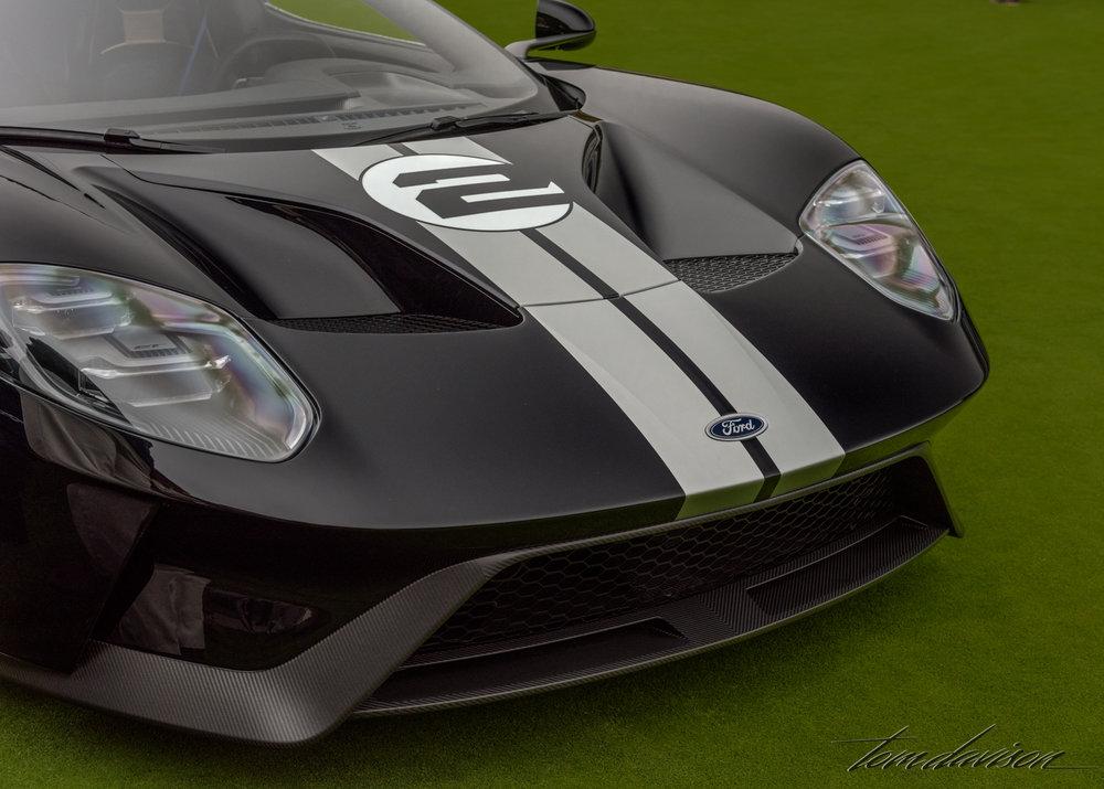 A 2017 Ford GT super car.