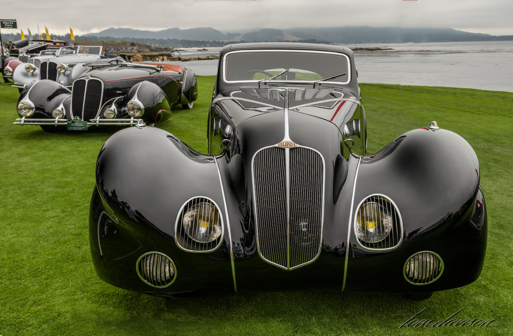 Line up of Delahaye Chabron bodies.