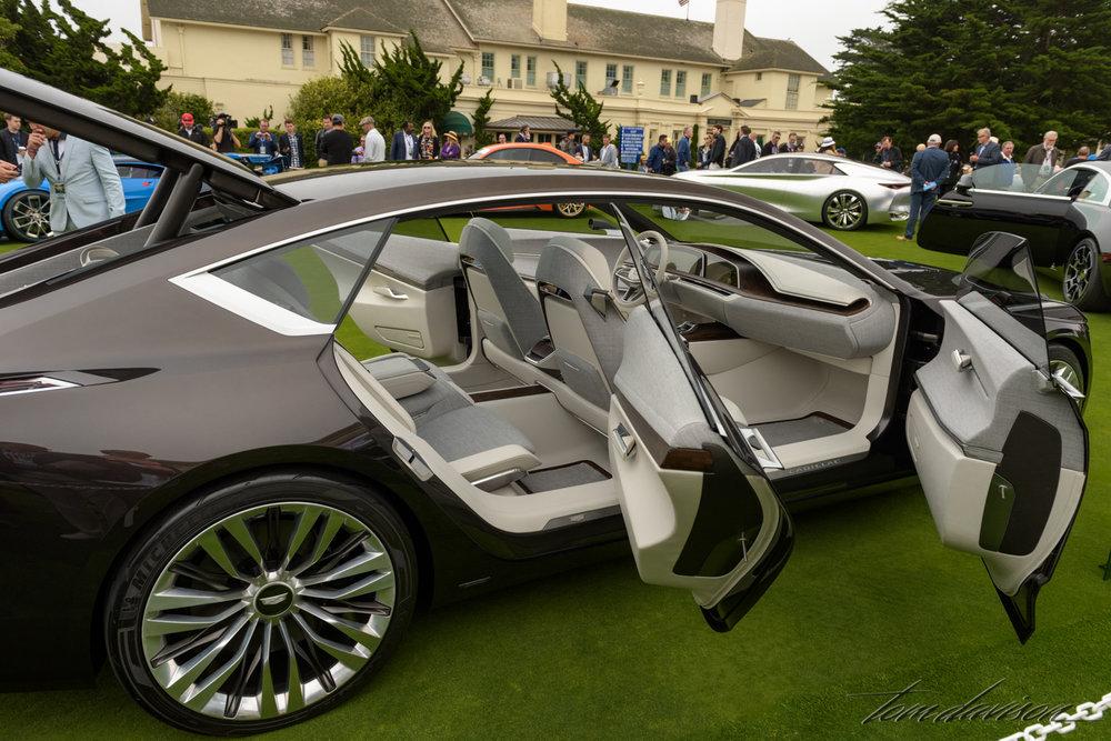 A concept Cadillac.