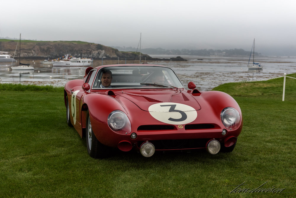 A Bizzarrini race car.