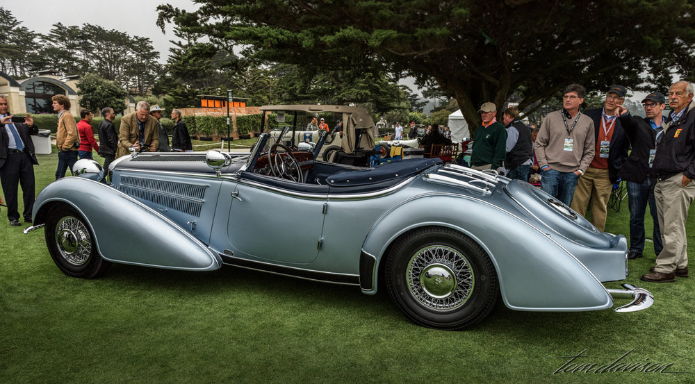 This is a Horch, a Mercedes competitor.