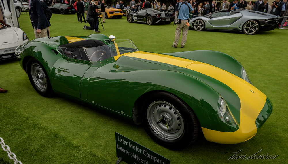 This is a Lister race car (British).
