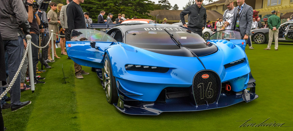 A concept Bugatti.