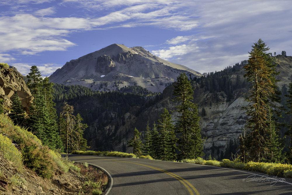Mount Lassen in the background.