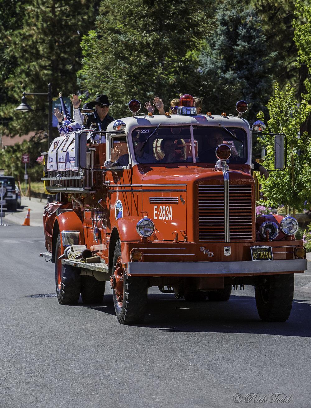 Small town USA parade. Gotta love them.