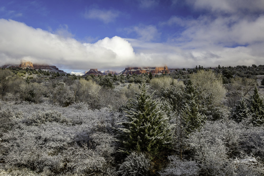 When we drive to Sedona we usually stop first at the Forest Service Information Center.  Not only is the view pretty darn good, but it gives us an opportunity to check out road conditions with the staff and makes sure all our favorite sites are open.