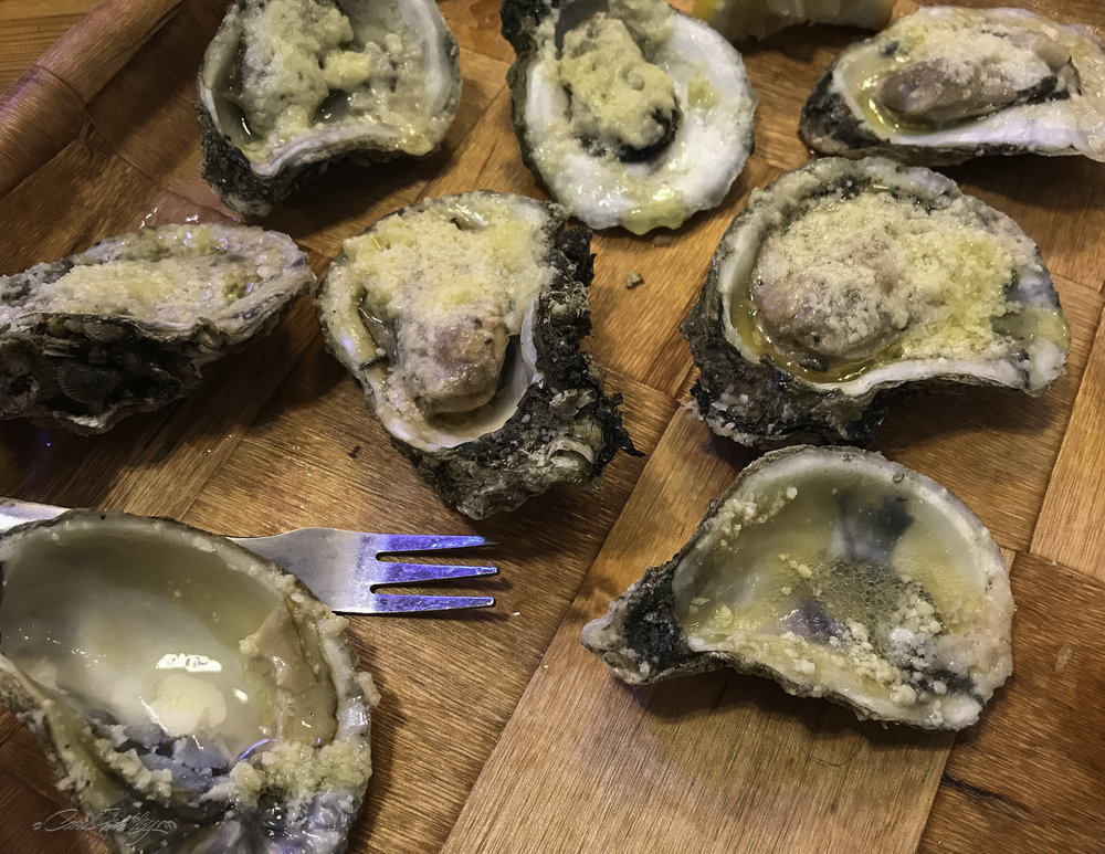 I did not miss the reference to oysters!!