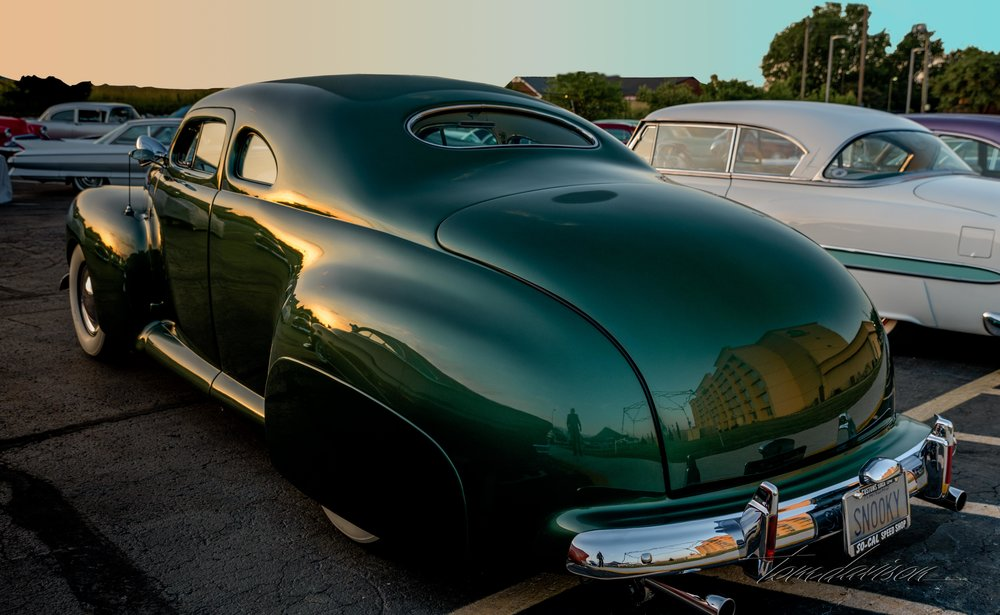 1941 Ford, actually built in 1947 and restored recently.