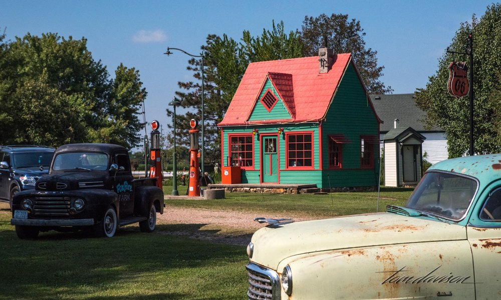 At first glance, as we drove through an open gate, was that this place was an upscale version of Gold Mine and Ghost Town in Jerome. But, it is much more than that.