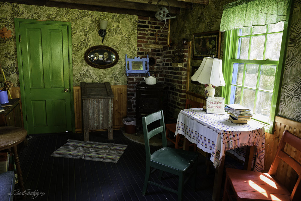 Inside of house above.
