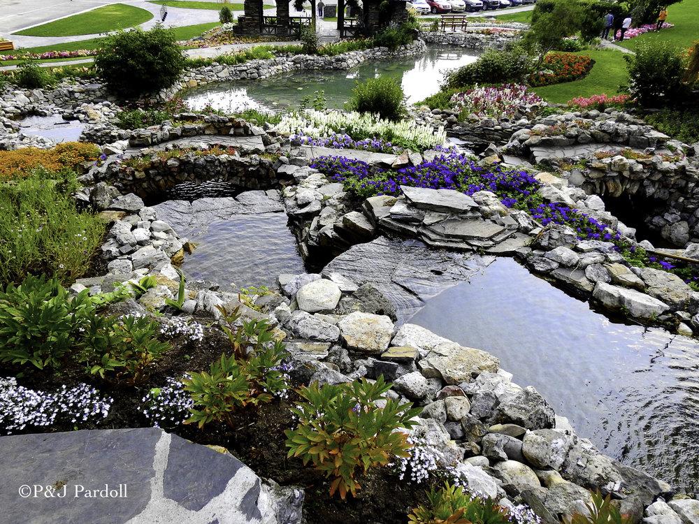 Banff Gardens  Canada Place Gardens