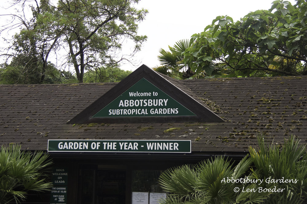 The Abbotsbury Subtropical Gardens is located right next to the Swannery.