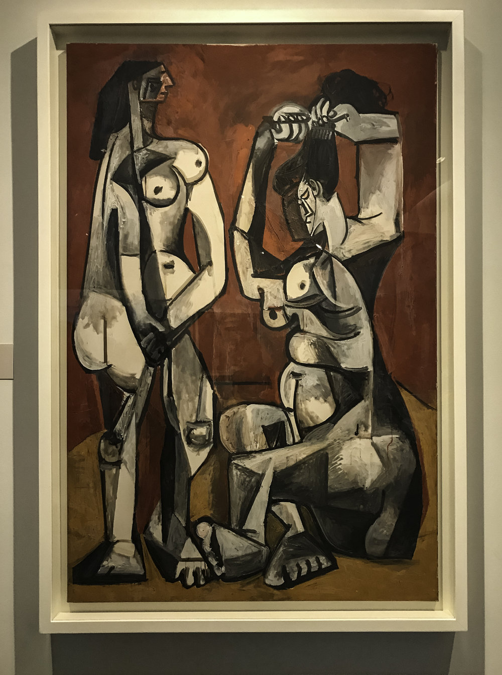La Toilette,   oil on canvas, 1956.