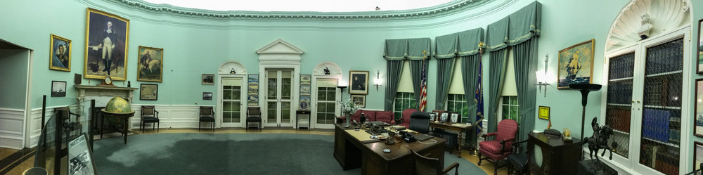 Truman's office as it was during his tenure at the White House.