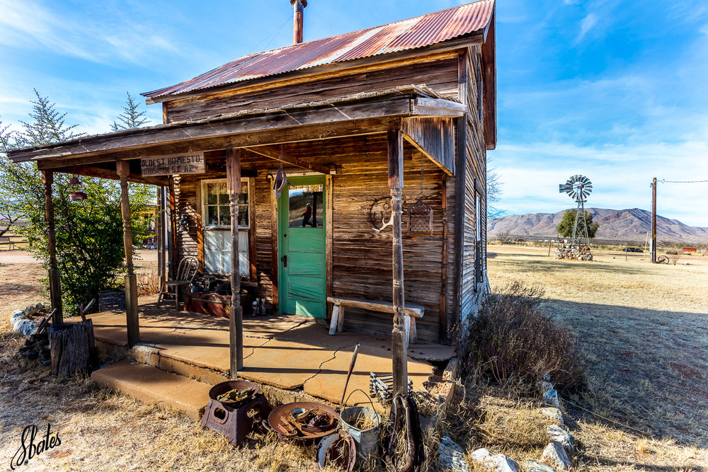 We were told this was the first homestead in southeastern AZ. They no longer live here!