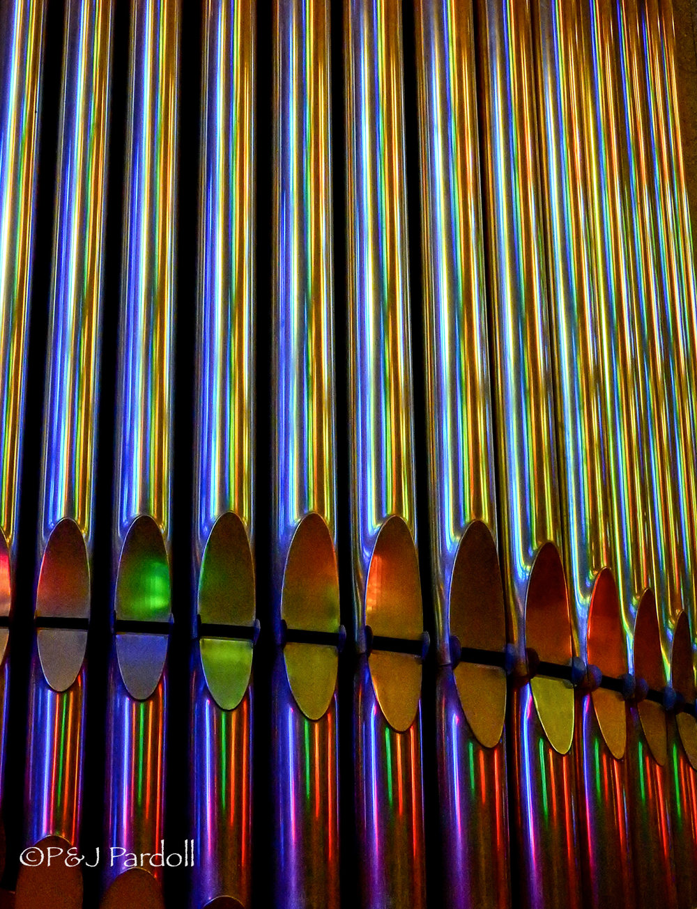 Organ Pipes in La Sagrada Familia