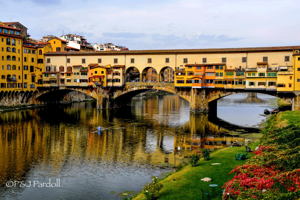 Florence, Italy  Arno River
