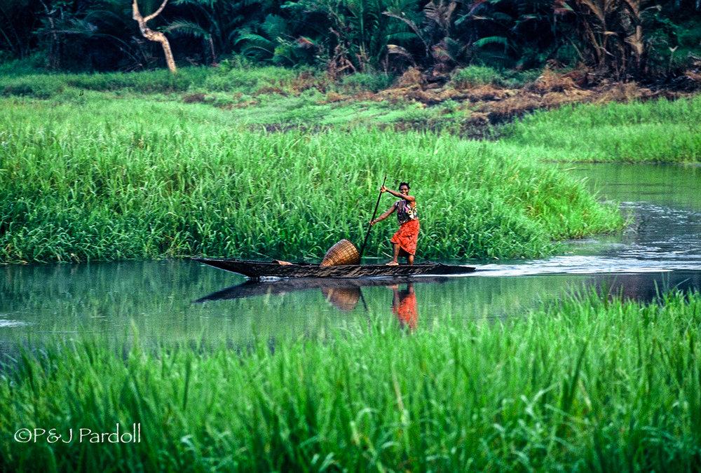 Papua New Guinea  1993along the Sepik River