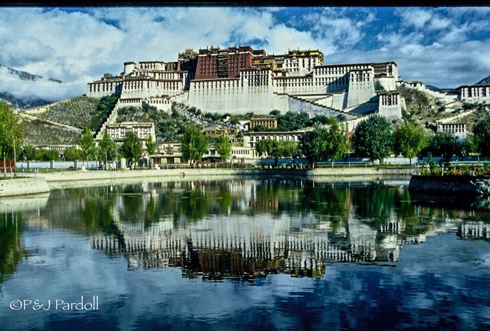 Potala Palace, Lhasa. Tibet 1985