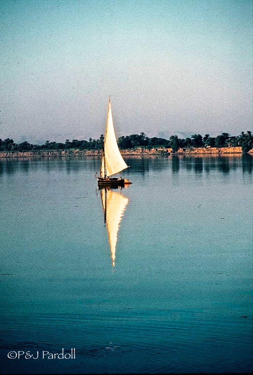 Egypt, Nile River  1977Scan