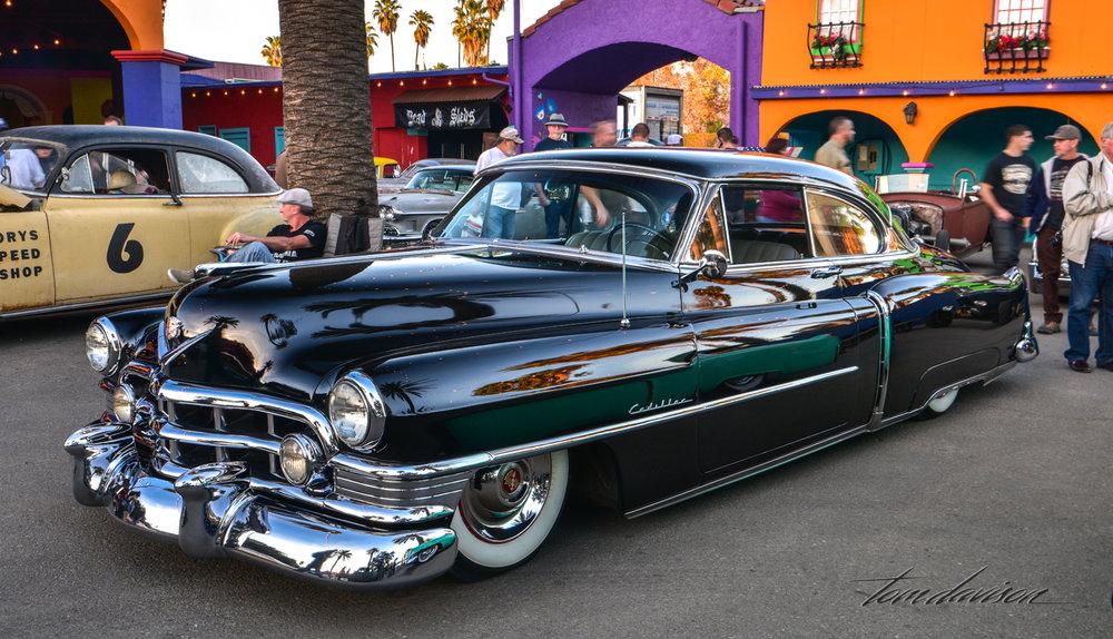 1950 Cadillac Coupe de Ville.
