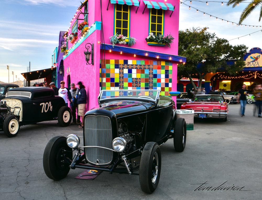 Classic 1932 deuce hiboy roadster.