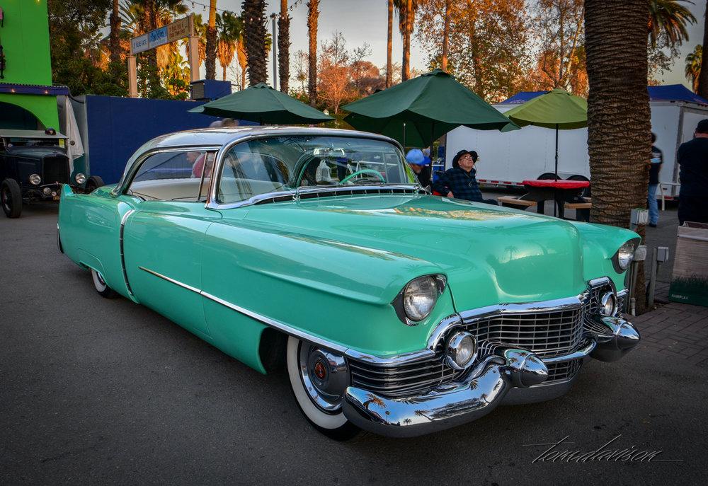1955 Cadillac custom.