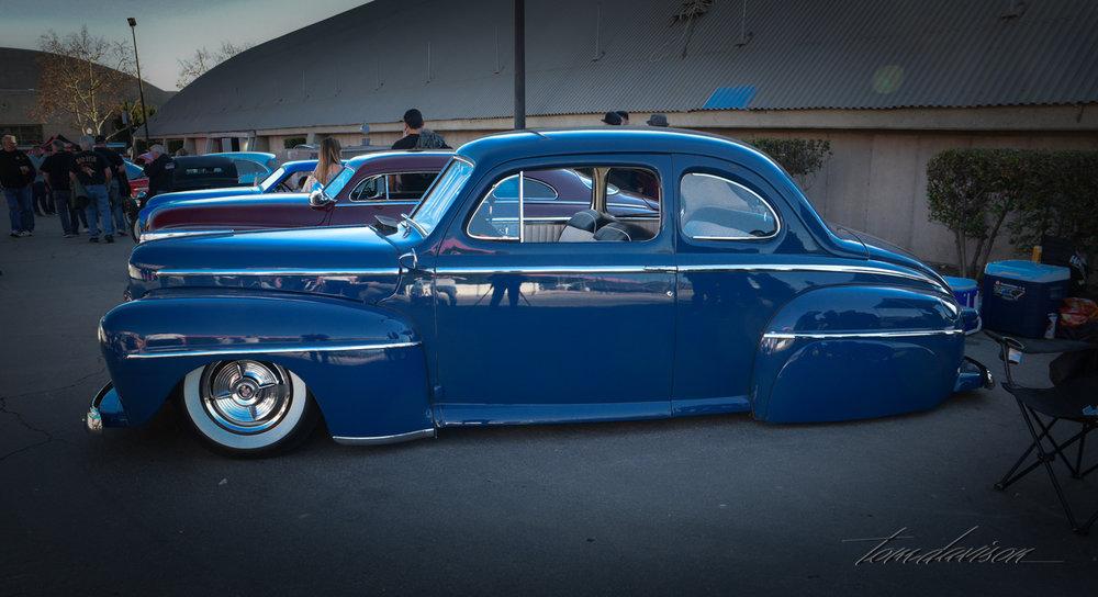 Mild custom 1947 Ford.