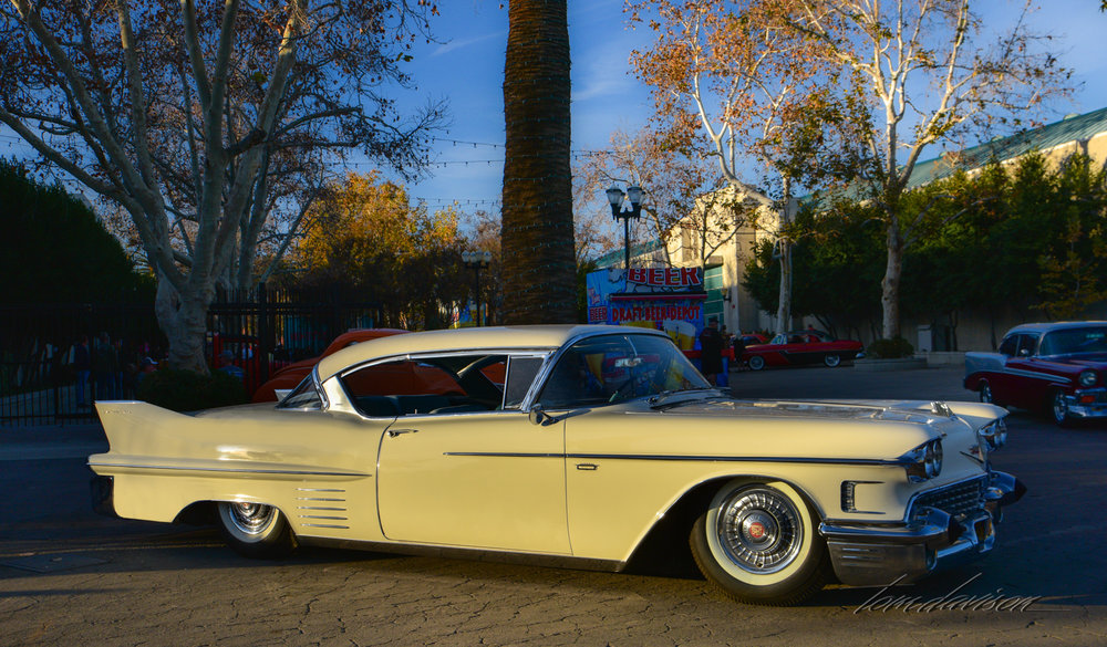 1958 Cadillac Coupe de Ville.