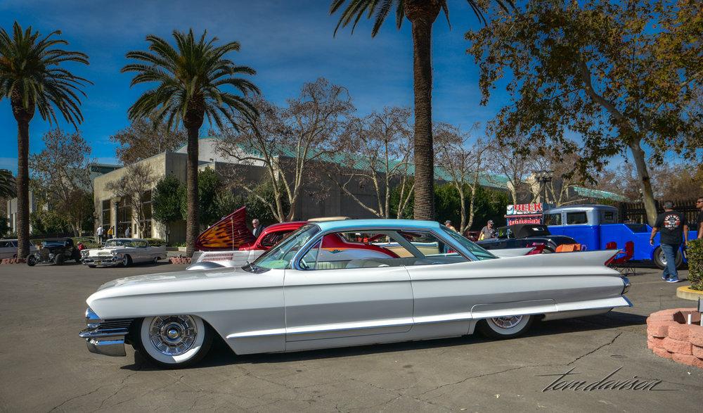 1961 Cadillac Coupe de Ville.